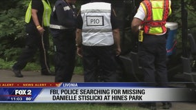 Search at Hines Park in connection with Danielle Stislicki's disappearance