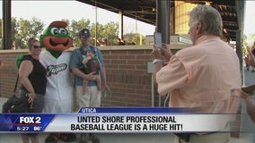 The United Shore Pro Baseball League is a hit