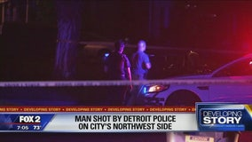 Young man critically injured when shot by Detroit police officer: police