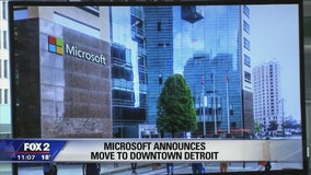 Microsoft moving to downtown Detroit