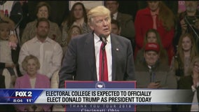 Electoral College to cast votes for president today