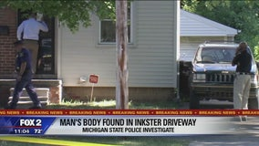 Man's body found in Inkster driveway