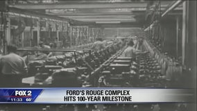 Ford celebrates 100 years of production at Rouge plant