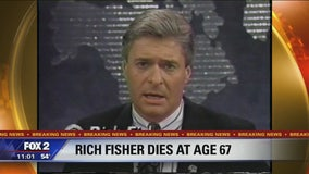 Rich Fisher, former longtime Detroit TV anchor and reporter, has died