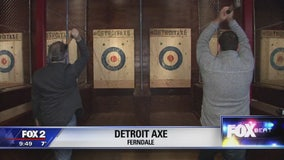 New Ferndale bar features ax throwing