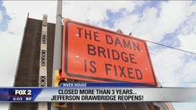 River Rouge rejoices: The Damn bridge is fixed!