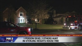 Teen killed in 'suspicious' Sterling Heights house fire in middle of the night