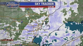 Tuesday morning snow causing slick commute
