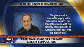 Marchionne said to have died of cardiac arrest