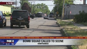 Mich. State Police serving high-risk warrant in Hamtramck