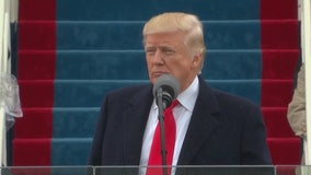 President Donald Trump's inaugural address
