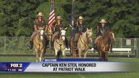 Students hold Patriot Walk on 9/11 to benefit fallen Detroit Capt. Ken Steil