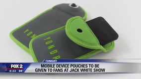 Heads up: No phones allowed tonight at Jack White's Detroit show. Or any of his other shows.