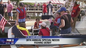 39th annual Special Needs Fishing Derby in St. Clair Shores