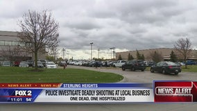 Woman injured in attempted murder-suicide at business in Sterling Heights