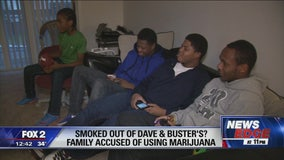 Family says Dave and Buster's manager accused them of smelling like weed