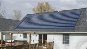 Michigan company has made solar shingles for years