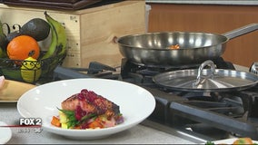 Novi Chophouse's seared cobia recipe