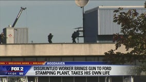 Police: Man shoots, kills self at Ford Woodhaven Stamping Plant