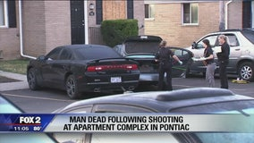 Man killed in Pontiac parking lot shooting