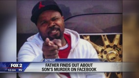 Man learned of son's murder through viral photo on Facebook