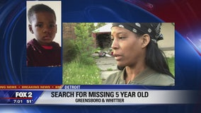 Detroit Police search for 5-year-old Kendall Moses