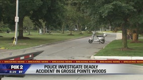 Man killed in crash involving scooter in Grosse Pointe Woods