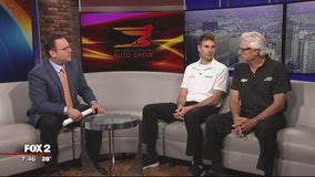 Will Power, Rick Mears at NAIAS Family Day
