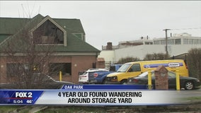 4-year-old girl found wandering in storage yard during daycare field trip