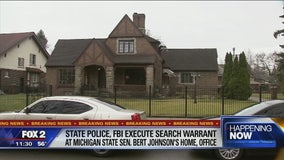 FBI, MSP executing search warrants at Mich. Sen. Bert Johnson's home, office