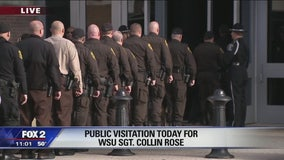 Hundreds of K9 officers line up to pay respects for fallen WSU sergeant