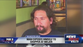 Man exposes himself to woman shopping at Rochester Hills Meijer