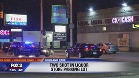 Two shot in liquor store parking lot