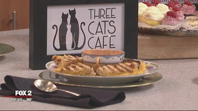 Leon and Lulu's Three Cats Cafe's grilled cheese recipe