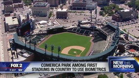 Comerica Park among first stadiums in country to use fingerprint entry