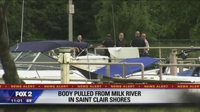 Body found in canal in St. Clair Shores
