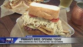 Primanti Bros. Restaurant opens first in Michigan