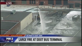 DDOT Shoemaker Terminal damaged by fire