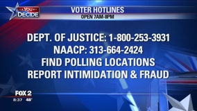 Problems at the poll? Here's who to call