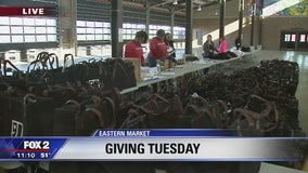 Goodwill assembles care packages on Giving Tuesday