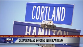 70-year-old shot at during carjacking in Highland Park