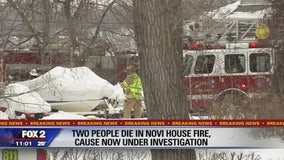 Couple dies in house fire in Novi