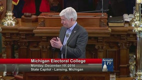 It's official: Michigan electors unanimously vote for Donald Trump