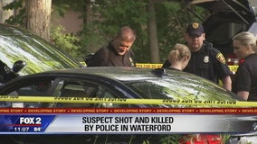 Man fatally shot by Waterford police after violent rampage threatening family