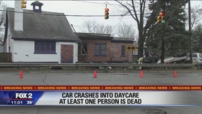 Man killed in car crash at Waterford daycare center