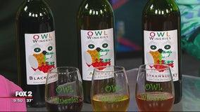 Owl Wineries making Michigan fruit wines