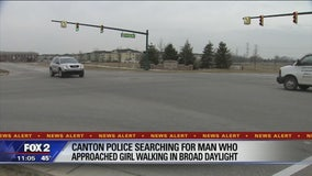 12-year-old girl approached in Canton in broad daylight