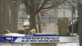 11-year-old critically hurt by stray bullet in party store shooting in Pontiac