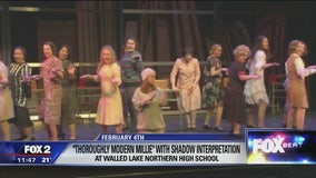 ASD signed performance of 'Thoroughly Modern Millie' at Walled Lake Northern High School
