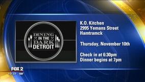 Dining in the Dark Nov. 10